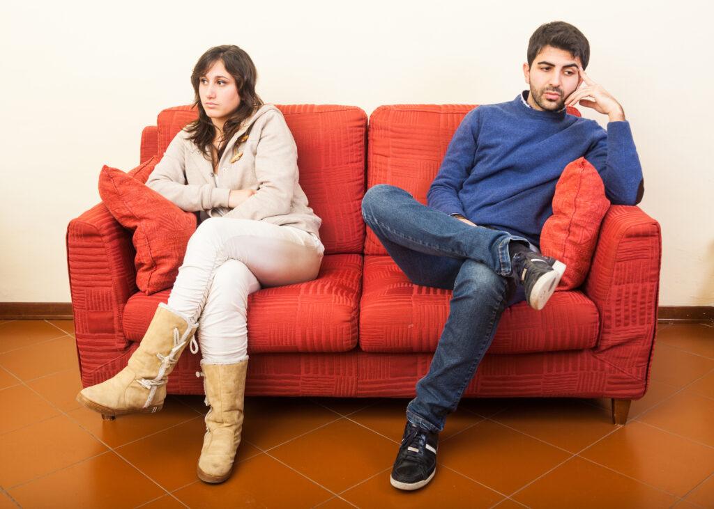 a leggyakoribb párkapcsolati problémák